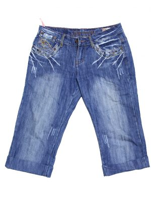 Casual Latest Style Blue Original Cotton Shorts