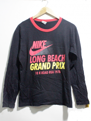 Nike Casual black Printed T-Shirt