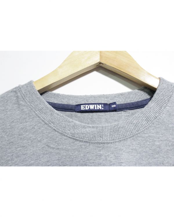 Edwin Casual grey printed T-Shirt
