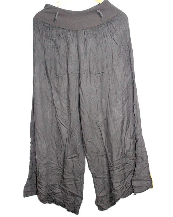 Casual Trouser Style Brown Cotton For Women