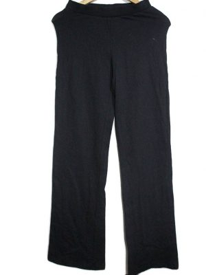 9th Avenue Casual Style Black Plain Trouser For Women