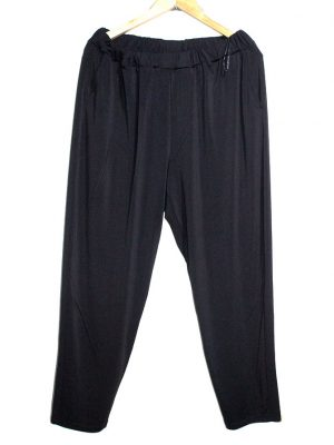 MSMode Casual Style Black Plain Trouser For Women