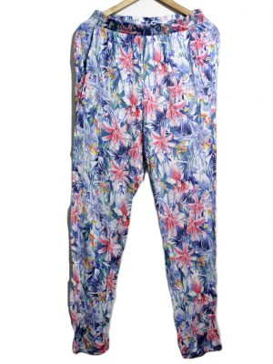 H&M Casual Style Multicolor Printed Trouser For Women