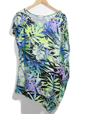 Modee Casual Multicolor Printed Original Jersey Top-Blouse