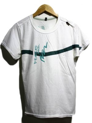 Casual White Printed Half Sleeves Original Cotton T-Shirt