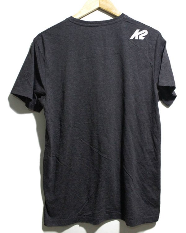 K2 Casual Black Printed Half Sleeves Original Cotton T-Shirt