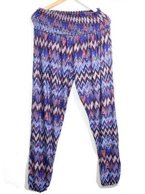 Casual Trouser Style Multicolor Cotton For Women