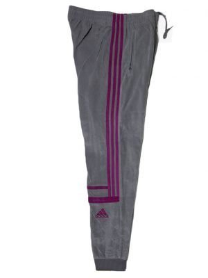 Adidas Original Branded Grey Sports Velvet Trouser For Men