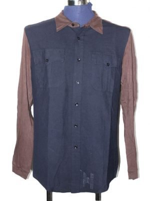 Alessandro Gherardeschi Branded Original Cotton Shirt For Men
