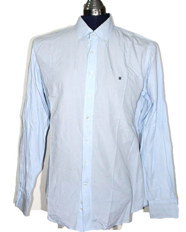 Carolina Herrera Branded Original Firozi Color Cotton Shirt For Men