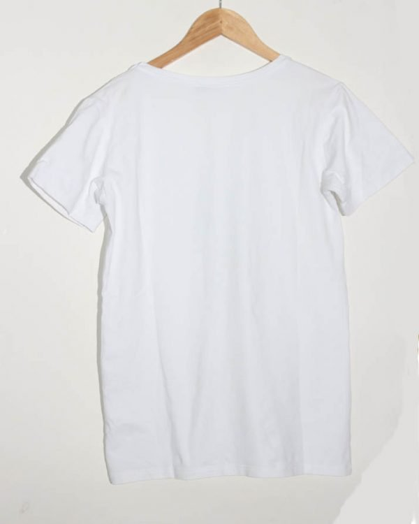 Leif Nelson Branded Original Printed White T-Shirt For Men