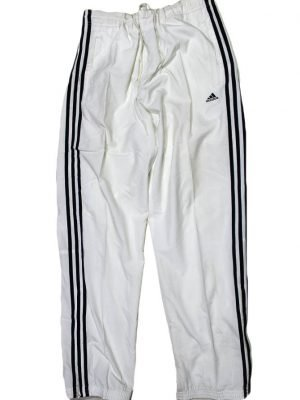 Adidas Imported 3 Strips Original White Sport Trouser For Men