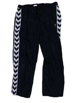 Hummel Branded Original Black Sport Trouser For Men