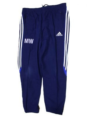 Adidas Branded 3 Strips Original Blue Sport Trouser For Men