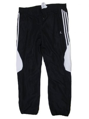 Adidas Imported 3 Strips Original Black Sport Trouser For Men