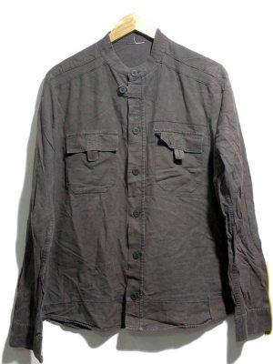 Stylish Original Brown Color Cotton Shirt For Men