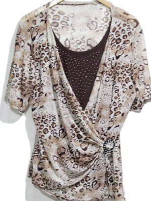 Fancy Original Multi Color Top For Women