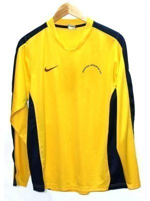 Nike Branded Original Yellow Sport T-Shirt For Men