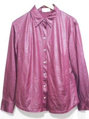 Maria Belle Branded Fancy Original Purple Shirt For Women