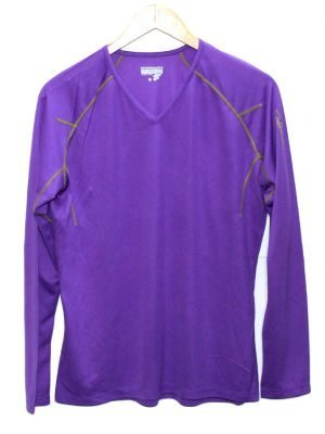 Salomon Imported Original Purple Sport T-Shirt For Men