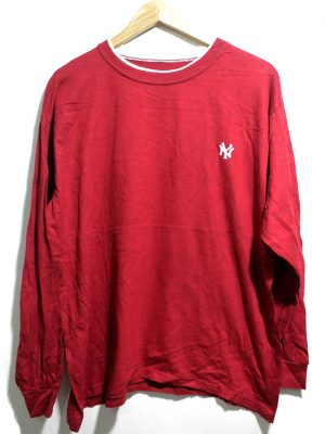 Imported Stylish Original Red Cotton T-Shirt For Men