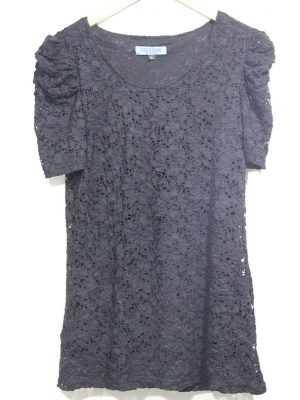 Fogie Rosse Collection Branded Fancy Grey Top For Women