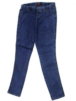 Denim Imported Original Blue Jeans Pant For Women
