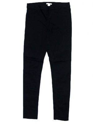 H.M Imported Original Black Cotton Pant For Women