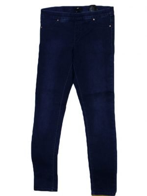 H.M Imported Original Blue Cotton Jeans Pant For Women