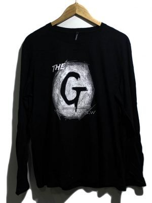 The Guy Branded Fancy Original Black Printed T-Shirt For Men