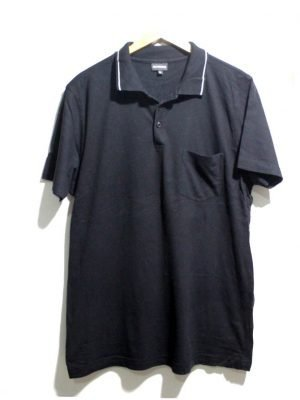 Biaggini Branded Fancy Original Black Polo T-Shirt For Men