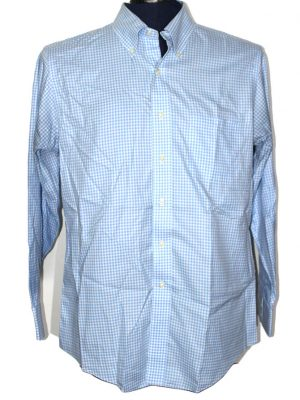 Brooks Brother Branded Original Firozi Cotton Shirt For Men