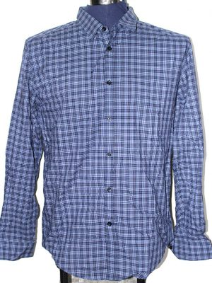 Zara Branded Original Multi Color Cotton Shirt For Men