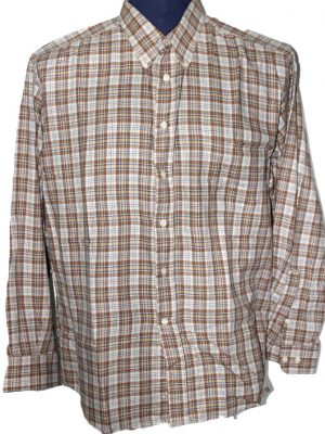 Country Club Branded Original Multi Color Checkered Cotton Shirt For Men