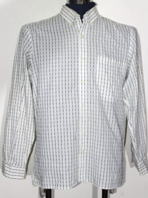 Majors Branded Original White Cotton Shirt For Men
