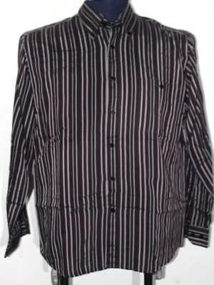 Marengo Branded Original Brown Cotton Checkered Shirt For Men