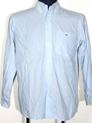 Lacoste Branded Original Firozi Cotton Shirt For Men