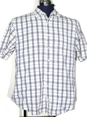 Burberry Branded Original Multi Color Cotton Checkered Shirt For Men