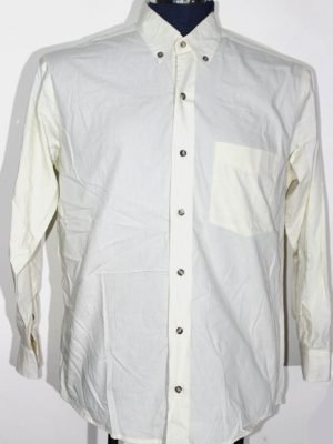 Austin Reed Branded Original Off White Cotton Shirt For Men