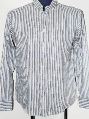 Zara Branded Original White Cotton Shirt For Men