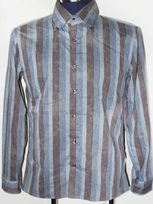 Dario Beltran Branded Original Multi Colour Cotton Shirt For Men